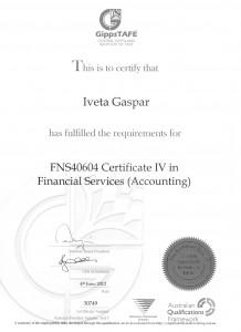 Certificate IV