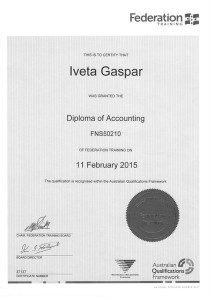 Diploma of Accounting
